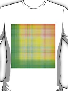 Spring-Summer Colour Plaid T-Shirt