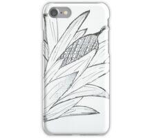 Black & white corn iPhone Case/Skin