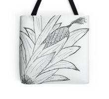 Black & white corn Tote Bag