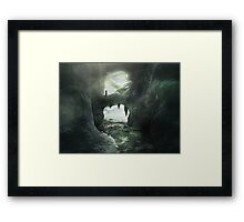 Ice Kingdom Framed Print