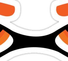 Splatoon – Ink Girl –Orange Sticker