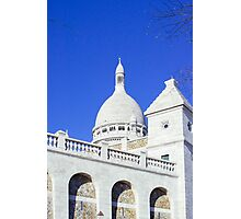 Sacre Coeur Closeup Photographic Print