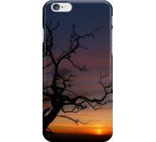 scottish sunset  iPhone Case/Skin