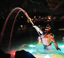 King Triton Fountain by TLCGraphics