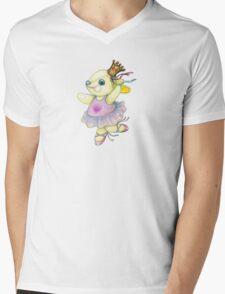 Bunny Ballet Mens V-Neck T-Shirt