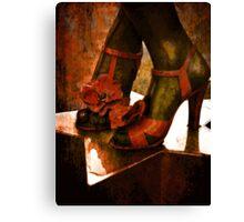Divas Shoes Canvas Print