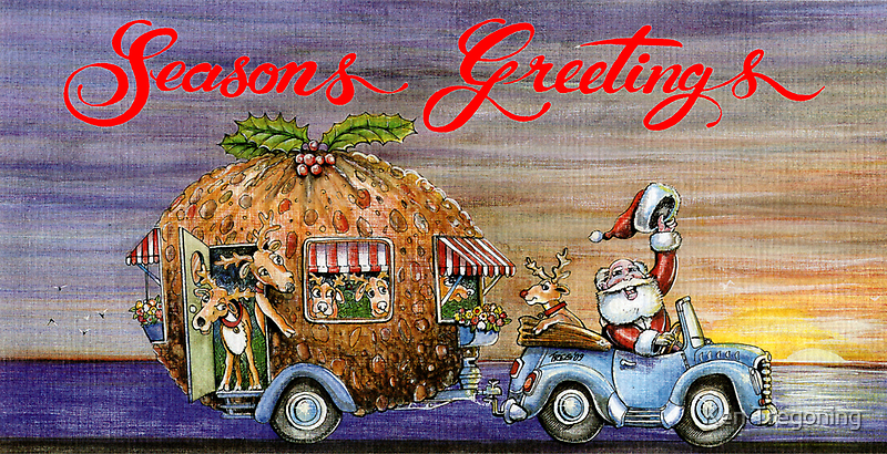Seasons Greetings a bit early by Ken Tregoning