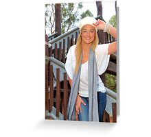 A day in Kings Greeting Card