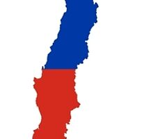 Flag Map of Chile  by abbeyz71