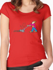 mower Women's Fitted Scoop T-Shirt