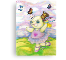 The Hills are Alive with the Sound of Pooky Canvas Print