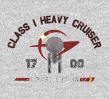 Heavy Class Cruiser Back - Dark Baby Tee