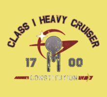 Heavy Class Cruiser Back - Dark Baby Tee