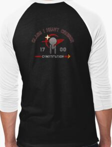 Heavy Class Cruiser Back - Dark Men's Baseball ¾ T-Shirt