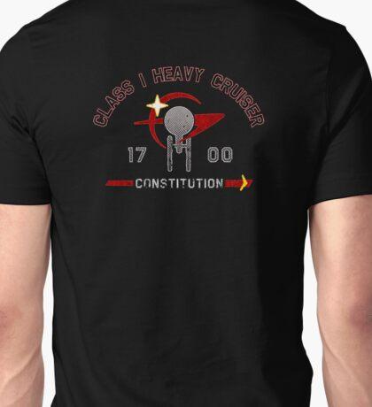 Heavy Class Cruiser Back - Dark Unisex T-Shirt
