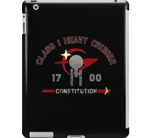 Heavy Class Cruiser Back - Dark iPad Case/Skin