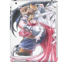 Cloud Strife - Kingdom Hearts (2) iPad Case/Skin