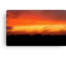 August Sunset, Point Judith, RI, USA Canvas Print