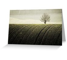 Rural Carpet Greeting Card