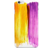 Abstract paint watercolor iPhone Case/Skin