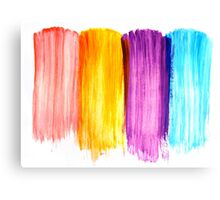 Abstract paint watercolor Canvas Print