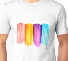 Abstract paint watercolor Unisex T-Shirt