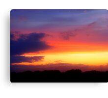 August Sunset, Point Judith, RI, USA (2) Canvas Print