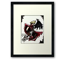 Cloud Strife - Heroes of final fantasy 7 (3) Framed Print
