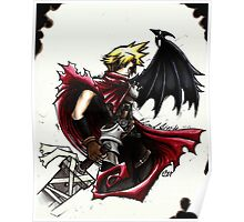 Cloud Strife - Heroes of final fantasy 7 (3) Poster