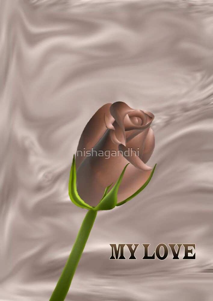 A chocolate rose for you my love....... by nishagandhi