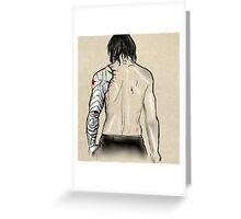 Bucky's Back.  Greeting Card