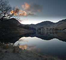 Lake Buttermere, Lake District, Cumbria by Stunningstills