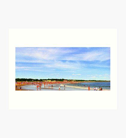 Narragansett Beach, RI, USA Art Print