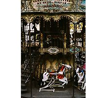 Montmartre Carousel Photographic Print