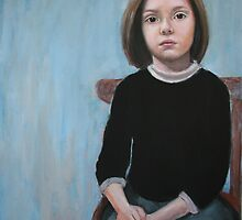 Portrait of Childhood by Magda Vacariu