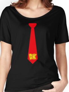 DK Tie - Donkey Kong Tie T-Shirt Women's Relaxed Fit T-Shirt