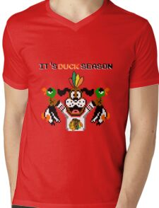 Duck Season Mens V-Neck T-Shirt