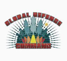 Global Defense Command - Dark One Piece - Short Sleeve