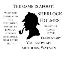 Original Sherlock Quotes by expandingmind
