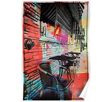 Table and Chairs Poster