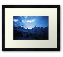 Himalayan dawn Framed Print