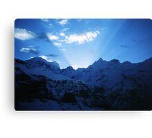 Himalayan dawn Canvas Print