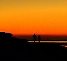 Sunset Stroll by KRicho