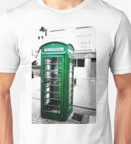 Irish Phone Booth Unisex T-Shirt