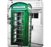 Irish Phone Booth iPad Case/Skin