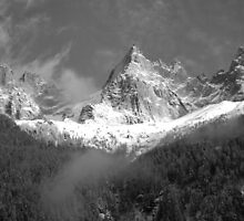 Chamonix Valley 1 by petegrev