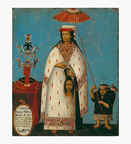 Peruvian Princess Photographic Print