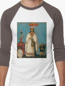 Peruvian Princess Men's Baseball ¾ T-Shirt