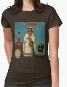 Peruvian Princess Womens Fitted T-Shirt