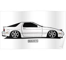 Mazda RX7 Poster